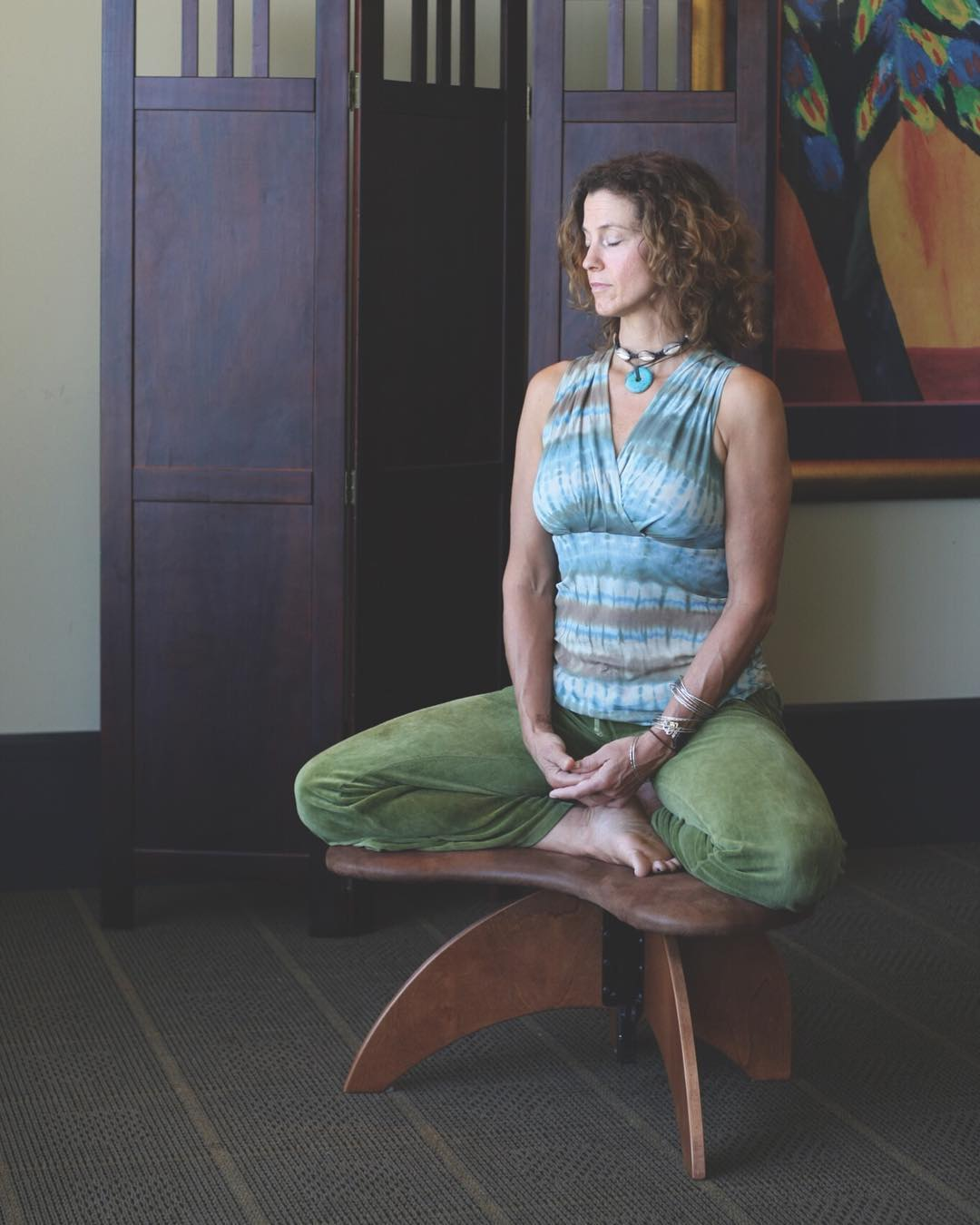 Fortifies The Idea Of Devoted Meditation Space