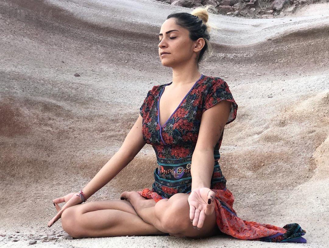 Ardha Padmasana or Half Lotus Pose